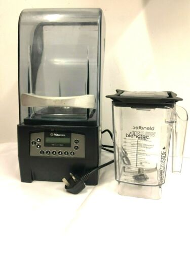 Vitamix The Quiet One. With Brand new Blendtec Rebel Jug. Commercial Blender