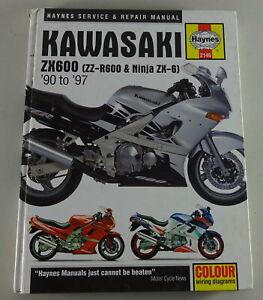 Details about Repair Manual Repair Manual Kawasaki Zx 600 ( Zz-R 600 on