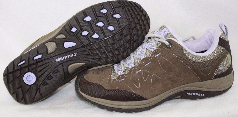 NEW Damenschuhe MERRELL Zeolite Serge Waterproof J227255C Stone Purple Schuhes Sneakers Schuhes Purple 70f507