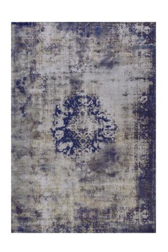 Arte Espina Teppich Vintage Oriental Muster Design Aubousson Grau Blau 200x290cm