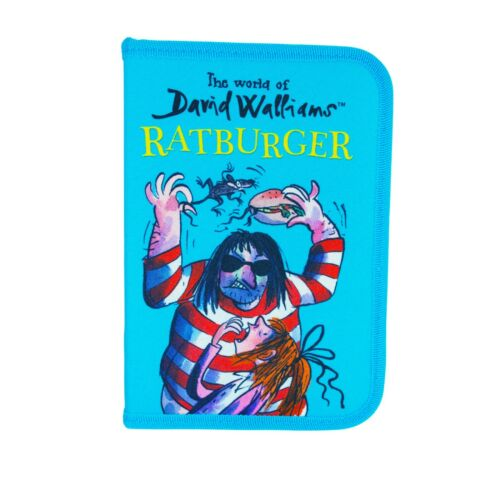 WALL4126 David Walliams Official Licensed Filled Pencil Case NEW!!
