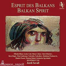 Esprit des Balkans - Balkan Spirit / Jordi Savall, Hesperion XXI - SACD