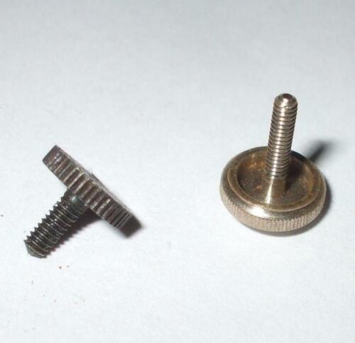 Gramophone soundbox needle screws 2 different