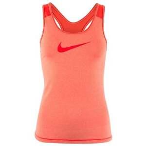 Fit para Nike Training Meduim Cool Orange Pro Nwt Gym Yoga Dri mujer Tank EIa4Aqw