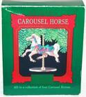 Hallmark 1989 Carousel Horse Christmas Ornament 4th in Series Ginger