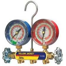Yellow Jacket 42021 Mechanical Manifold Gauge Set2 Valve