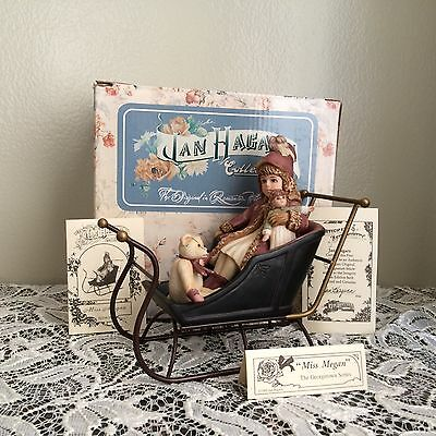 Jan Hagara Porcelain Figurine MISS MEGAN SIGNED Limited Edition HARD TO FIND