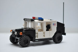 LEGO Army Military Hummer Camo City Police SWAT Tank Truck SUV Speed Champions