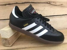 5cee8445d Adidas Mens 8 US 7.5 UK Samba Classic Soccer Casual Shoe Black White 034563