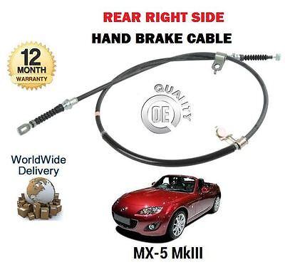 right hand Mazda MX-5 mk3 1.8 /& 2.0 2005-14 MX5 o//s new Brake hose front r//h