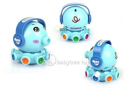 New Baby Kid Children Educational Developmental Wind Up Toys Vitality Octopus