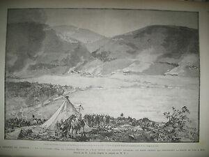 TONKIN-FORTS-CHINOIS-CHU-A-KEP-ESPAGNE-SEISME-BIRMANIE-AMBASSADEUR-GRAVURES-1885