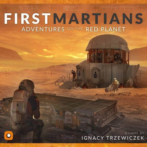 First Martians Adventures on the Red Planet, Boardgame, New by Portal Games, Eng
