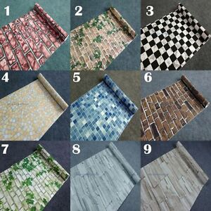 Selbstklebend tapete mosaik ziegel blatt vinyl aufkleber for Mosaik aufkleber