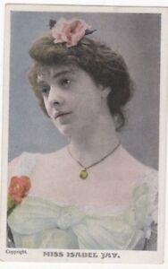 Actress-Isabel-Jay-Vintage-Postcard-US097