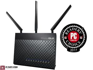 Details about ASUS RT-AC68U AC1900 Dual Band Wireless Gigabit Router w/  AiMesh Support Gaming