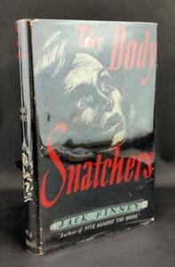Jack-Finney-First-Edition-1955-The-Body-Snatchers-Mill-Valley-Communists-HC-w-DJ