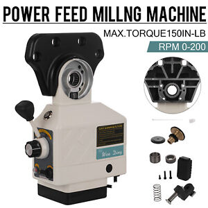 AS-250-X-AXIS-POWER-FEED-KNEE-MILLS-FOR-BRIDGEPORT-MILLING-MACHINE-0-200-RPM