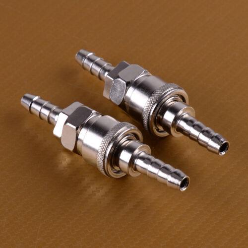 4x Quick Release Gas Hose Nozzle Coupling Connector 8mm For Caravan Motorhome