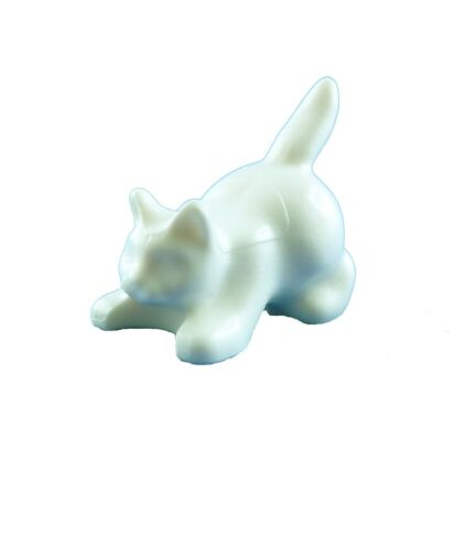 LEGO 2x Bianco Gatto accovacciato NUOVO BIANCO Cat Crouching NEW 6251