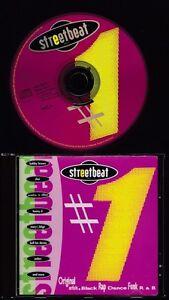 STREETBEAT-1993-CD-MCA-Stephanie-Mills-Shai-Jodeci-Mary-J-Blige-Shai
