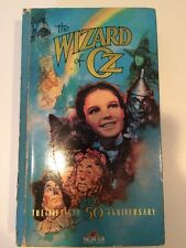 Wizard of Oz VHS Movie Tape 50th Anniversary MGM Dorothy Toto Judy Garland