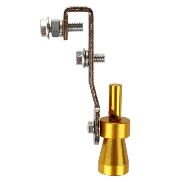 10.2 x 1.8cm Turbo sonido del silenciador del extractor pipa del silbido valv 1Q