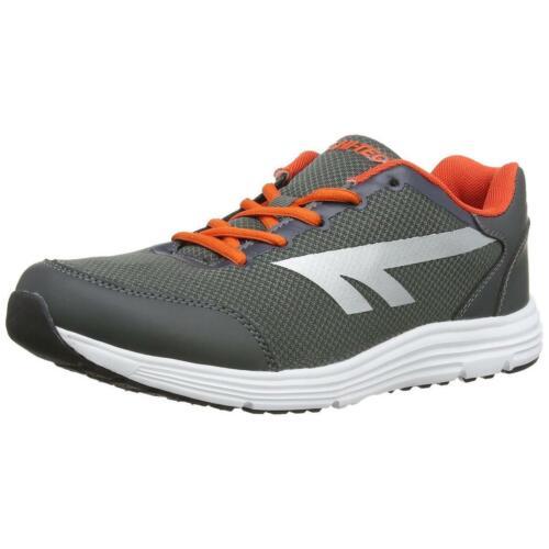 Hi-Tec Pajo Men/'s Charcoal//Orange Running Shoes 9M