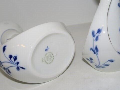 Porcelæn, Sommerfugl Dickens med guldkant  Lysestage