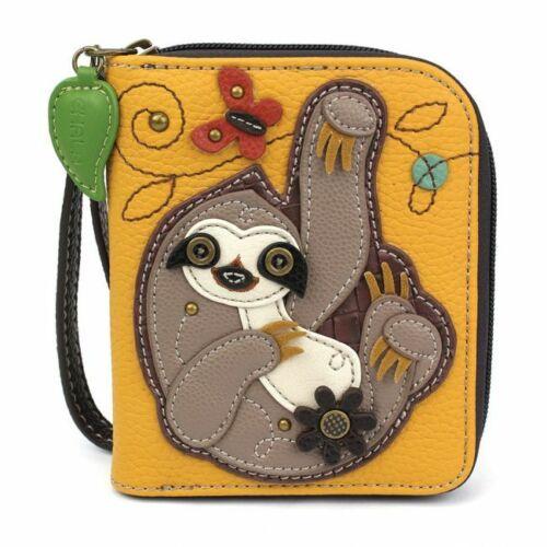 Zip-Around Wallet Sloth Chala