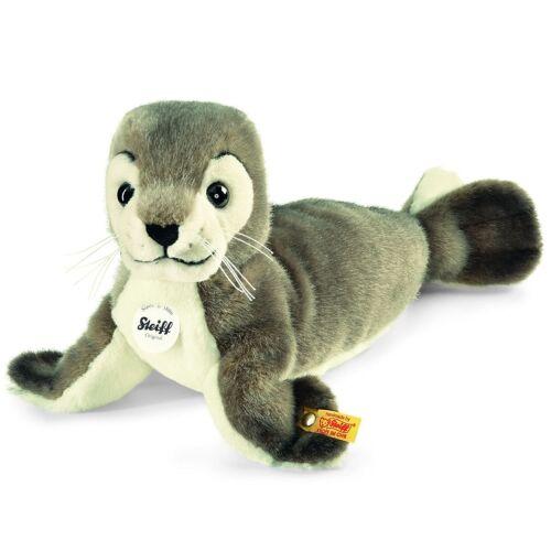 Steiff 063114 Seehund Robby grau 30 cm incl Geschenkverpackung
