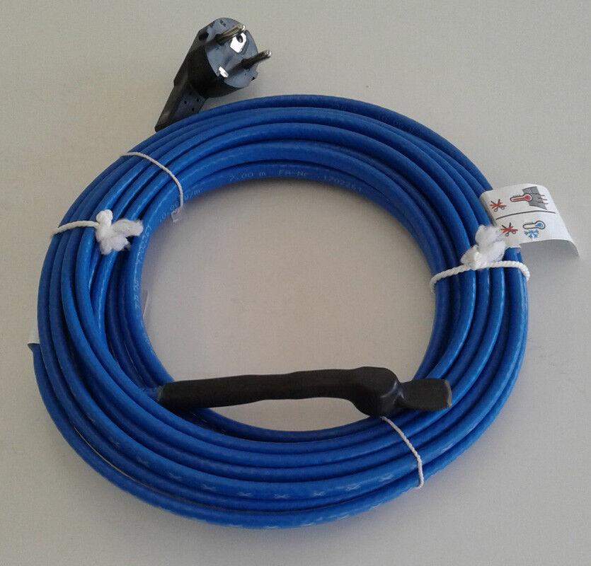 Rohrbegleitheizung Frostschutz Leitung mit Regler selbstüberwachend Länge 6,0 m