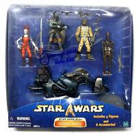 Star Wars Ultimate Bounty Figure Set W/jeremy Bulloch Boba Fett Signed Box
