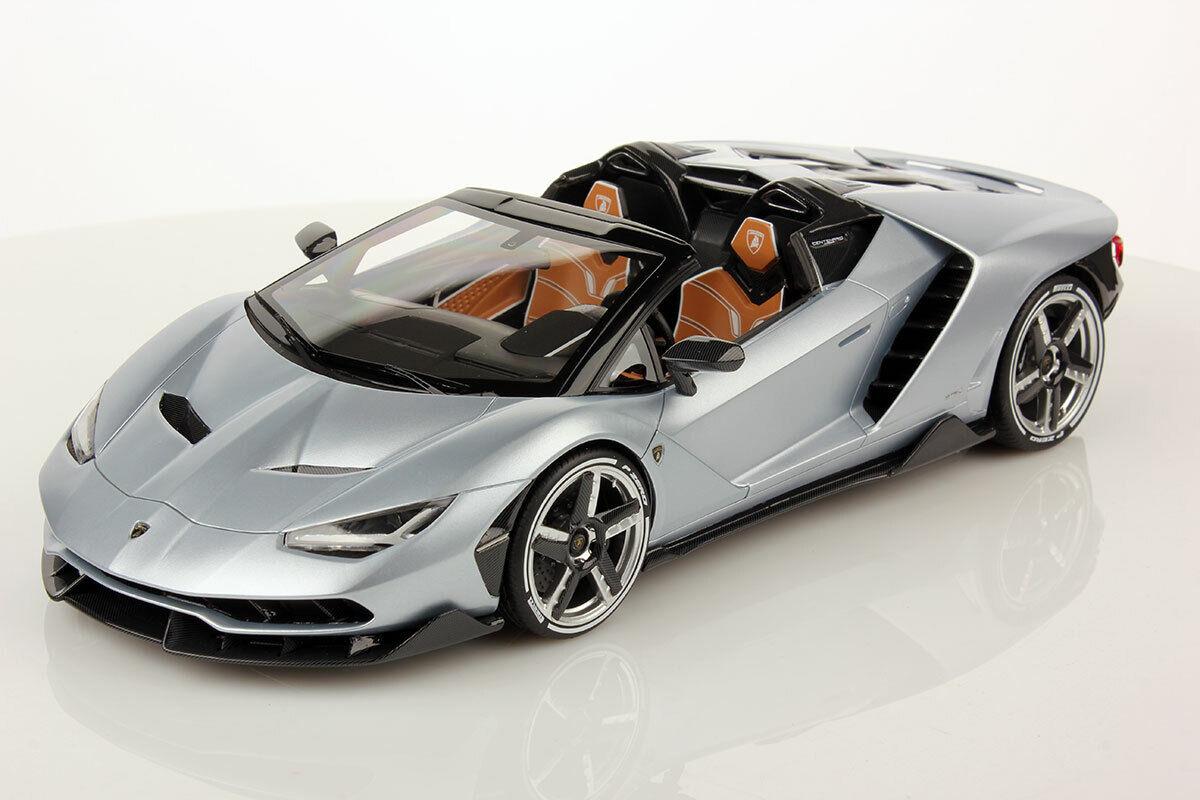 Lamborghini Centenario cabriolet argento Centenario 2017 1 18 MR