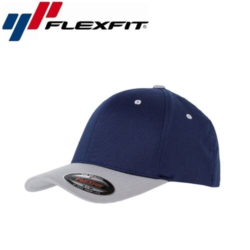 Flexfit Contrast Baseball Cap S//M Navyblau Silber