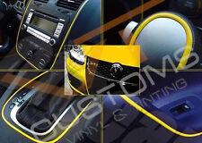 YELLOW STYLING STRIP TRIM CAR VAN 4MM x 5M FREE POSTAGE