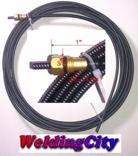 """MIG Welding Gun Kit .035/"""" for Miller M-25//M-40 Tip-Nozzle-Diffuser-LinerM37L"""