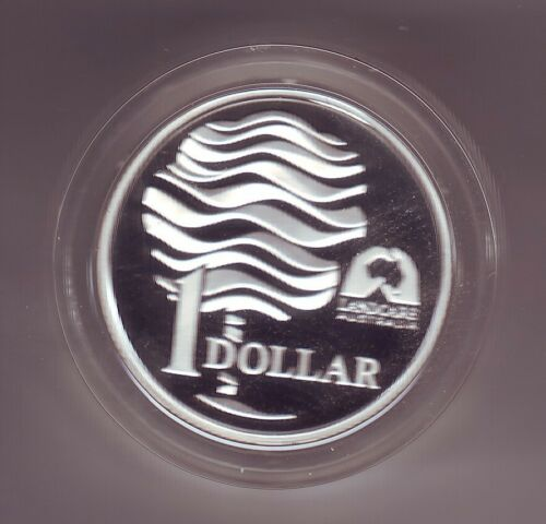 1993 $1 Silver Proof Coin Landcare Water Australia in Capsule
