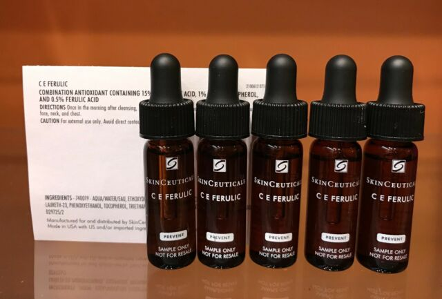 SkinCeuticals CE Ferulic 5 samples NEW without box FRESH