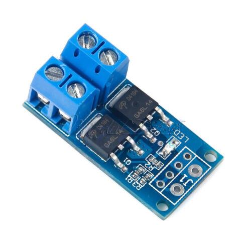 Trigger Switch Driver Module Dual MOS PWM Electronic Switch Panel 15A 400W Neu