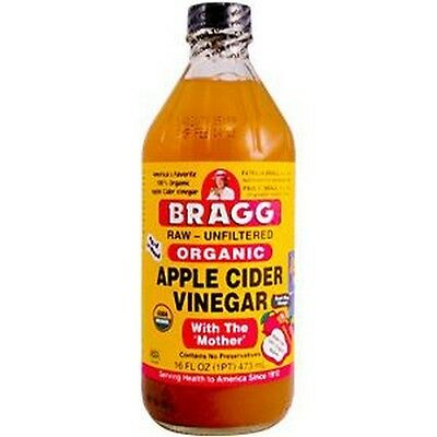 Bragg Organic Apple Cider Vinegar with The 'Mother' Raw-Unfiltered 473ml