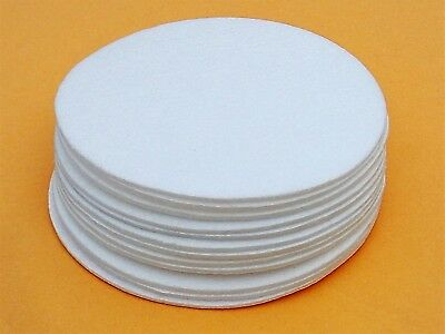 Lot de 12 synthétique Filtre disques 90 mm .3 µ Mushroom Spawn Jar Wide Mouth