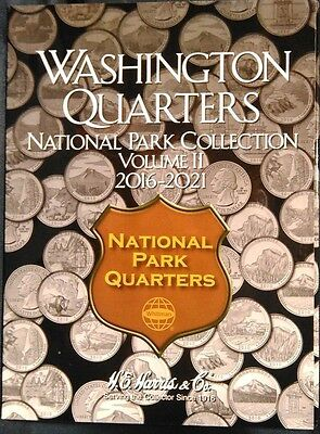 H.E Harris National Park Quarter Folder 2016-2021 Coin Storage Album Vol 2