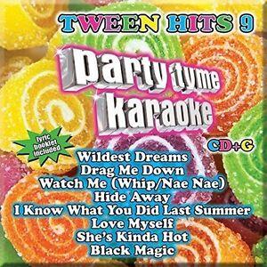 Various-Artists-Party-Tyme-Karaoke-Tween-Hits-9-New-CD