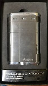Prime Details About Xikar Xtx Tabletop Lighter Gunmetal Triple Flame Lifetime Warranty Interior Design Ideas Helimdqseriescom