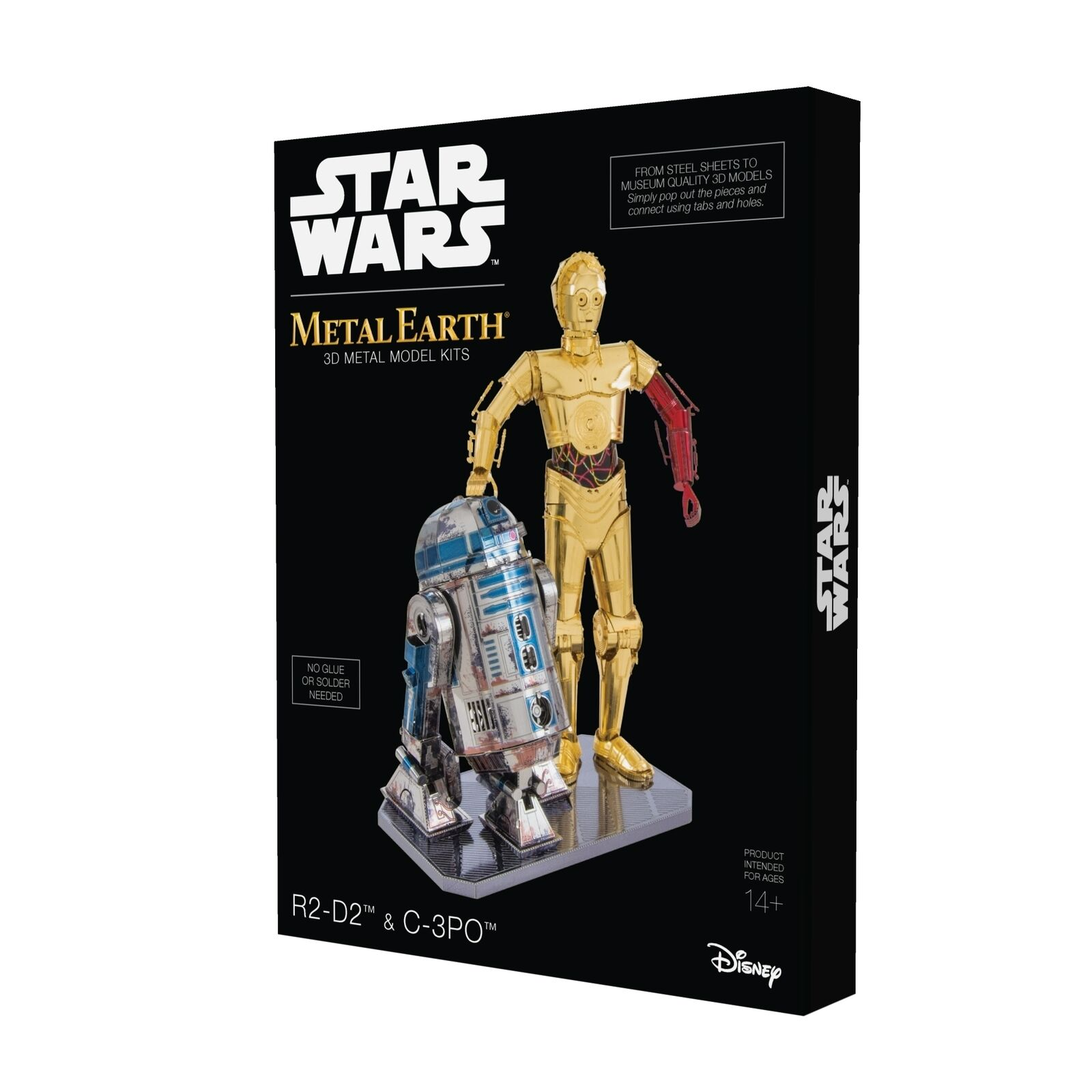 STAR WARS C-3PO & R2-D2 DELUXE DELUXE DELUXE SET Star Wars Fascinations FA MMG276 2ab306