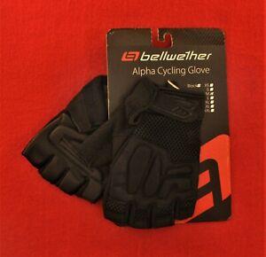 NEW-Bellwether-Alpha-Cycling-Glove-305-Black-Medium