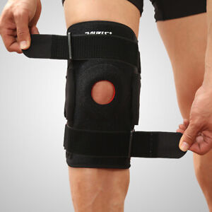 3e9654bec6 Image is loading Adjustable-Hinged-Knee-Brace-Patella -Support-Jumpers-Protector-
