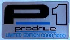 Subaru Impreza P1 Limited Edition Gel Type Plaque 0000 / 1000