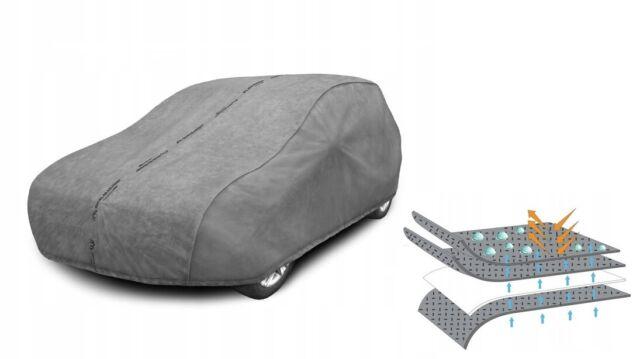 2-Material-Mix Vollgarage für Renault Clio 3 Grandtour Kombi 5-türer 02.08